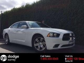 Used 2014 Dodge Charger SXT + HEATED FRONT SEATS + POWER DRIVER SEAT + NO EXTRA DEALER FEES for sale in Surrey, BC