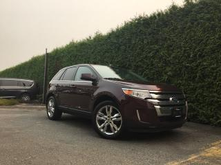 Used 2011 Ford Edge Limited AWD + SUNROOF + NAV + HEATED FRONT SEATS + NO EXTRA DEALER FEES for sale in Surrey, BC