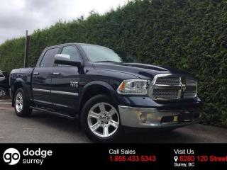 Used 2015 Dodge Ram 1500 LIMITED+ECO-DIESEL+NAV+ROOF+LEATHER+CAMERA+AIR RIDE SUSPENSION for sale in Surrey, BC