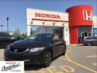 Used 2014 Honda Civic Sedan EX, one owner, SOLD for sale in Scarborough, ON
