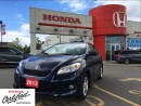 Used 2013 Toyota Matrix Base (A4),power sunroof, low mileage, alloys for sale in Scarborough, ON