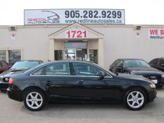 Used 2009 Audi A4 Quattro, Leather, Sunroof, WE APPROVE ALL CREDIT for sale in Mississauga, ON
