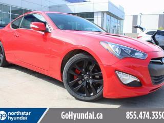 Used 2016 Hyundai Genesis Coupe NAV LEATHER SUNROOF for sale in Edmonton, AB