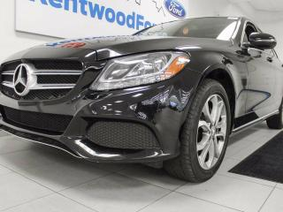 Used 2016 Mercedes-Benz C-Class C 300 4MATIC with NAV, sunroof, back up cam, power leather seats for sale in Edmonton, AB