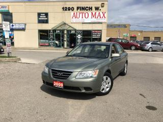 Used 2009 Hyundai Sonata GL, Certified, Great Condition for sale in North York, ON