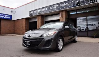Used 2011 Mazda MAZDA3 GX MANUAL NO ACCIDENT for sale in Mississauga, ON