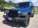 Used 2016 Jeep Wrangler Willys Wheeler for sale in Norwood, ON