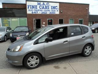 Used 2009 Honda Fit DX-A - CERTIFIED for sale in North York, ON