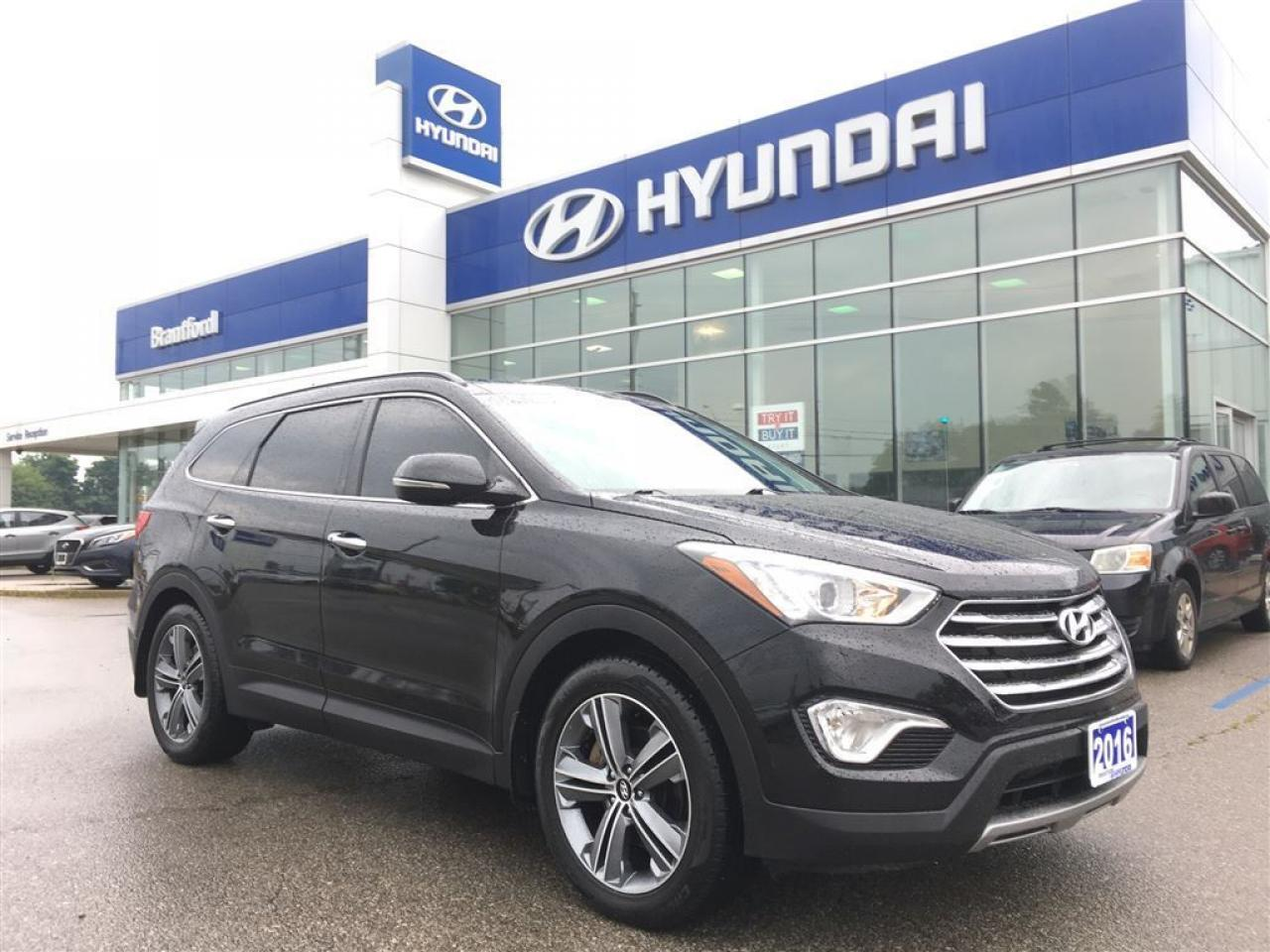 2016 Hyundai Santa Fe XL Limited | 1-Owner | NON-Rental | Serviced Here