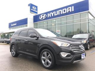 Used 2016 Hyundai Santa Fe XL Limited | 1-Owner | NON-Rental | Serviced Here for sale in Brantford, ON