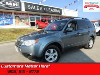 Used 2010 Subaru Forester 2.5X  AWD, ALLOYS, POWER-GROUP for sale in St Catharines, ON