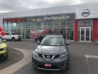 Used 2014 Nissan Rogue SV AWD 1 OWNER LOCAL TRADE for sale in Belleville, ON
