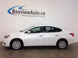 Used 2016 Nissan Sentra S- 1.8L! ECO MODE! A/C! BLUETOOTH! CRUISE! for sale in Belleville, ON