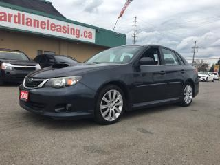 Used 2008 Subaru Impreza WRX WRX! SEDAN! AWD! TURBO! $213.86 BI WEEKLY! $0 DOWN! CERTIFIED! for sale in Bolton, ON