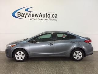 Used 2017 Kia Forte - AUTO! 2.0L! A/C! BLUETOOTH! LOW KM! for sale in Belleville, ON
