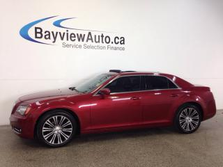 Used 2012 Chrysler 300 S- REM START! PANOROOF! TINT! LEATHER! BEATS! for sale in Belleville, ON