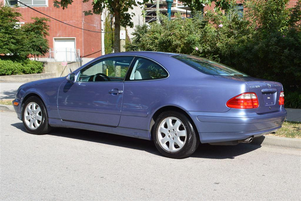 Used 2001 mercedes benz clk clk320 coupe for sale in for Mercedes benz vancouver bc