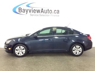 Used 2015 Chevrolet Cruze LT- 6 SPD! TURBO! A/C! REV CAM! MY LINK! CRUISE! for sale in Belleville, ON