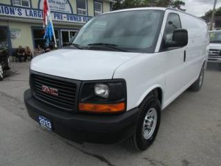 Used 2013 GMC Savana 1-TON CARGO MOVING 2 PASSENGER 4.8L - V8.. TOW SUPPORT.. PARKING AID.. AIR CONDITIONING.. IN-CARGO SHELVING.. for sale in Bradford, ON