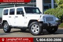 Used 2014 Jeep Wrangler Unlimited Sahara NO ACCIDENTS, B.C OWNED for sale in Surrey, BC