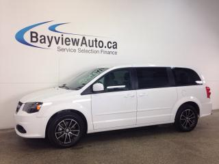 Used 2017 Dodge Grand Caravan SE - DVD! LEATHER! NAVI! PWR DOORS! for sale in Belleville, ON