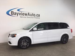 Used 2017 Dodge Grand Caravan SE- STOW 'N GO! DVD! NAV! REV CAM! PWR TRUNK! for sale in Belleville, ON