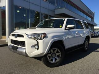 Used 2016 Toyota 4Runner SR5,Trail,TRD off road,Nav,local,one owner for sale in Surrey, BC