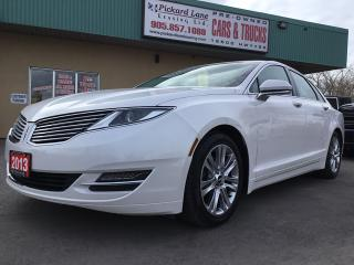 Used 2013 Lincoln MKZ Base $144.56 BI WEEKLY! $0 DOWN! LEATHER!! BLUETOOTH!! ALLOYS!! FOGLIGHTS!! POWER HEATED SEATS & MUCH MOR for sale in Bolton, ON