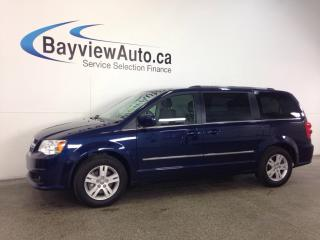 Used 2017 Dodge Grand Caravan CREW -DVD! NAVI! LEATHER! PWR DOORS! STO N GO! for sale in Belleville, ON