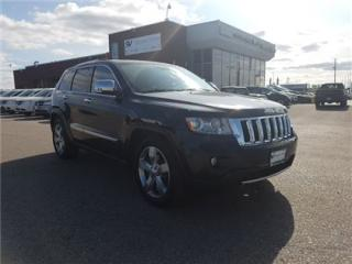 Used 2011 Jeep Grand Cherokee Overland NAVIGATION, PANORAMIC SUNROOF !!! for sale in Concord, ON