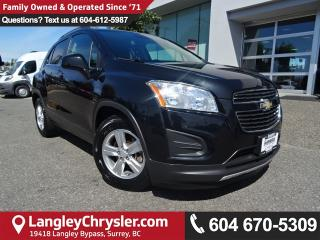 Used 2013 Chevrolet Trax 1LT *ACCIDENT FREE*ONE OWNER* for sale in Surrey, BC