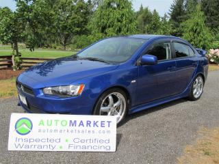 Used 2008 Mitsubishi Lancer GTS, Roof, Auto, Warranty for sale in Langley, BC