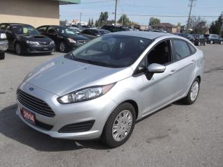 Used 2014 Ford Fiesta SE $76.80 BI WEEKLY! $0 DOWN! HUGE PRICE DROP!!! CERTIFIED! LOW MILEAGE! for sale in Bolton, ON