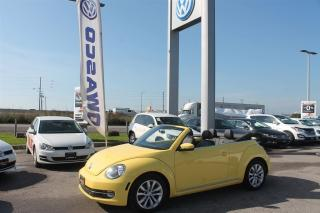 Used 2013 Volkswagen Beetle 2.5L HIGHLINE for sale in Whitby, ON