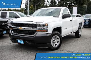 New 2018 Chevrolet Silverado 1500 WT Backup Camera and Air Conditioning for sale in Port Coquitlam, BC
