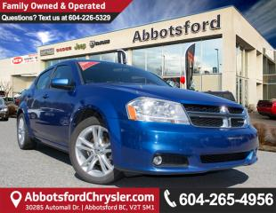 Used 2014 Dodge Avenger SXT ACCIDENT FREE! for sale in Abbotsford, BC