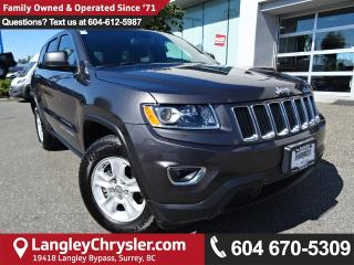 Used 2016 Jeep Grand Cherokee Laredo *ACCIDENT FREE * DEALER INSPECTED * CERTIFIED * for sale in Surrey, BC