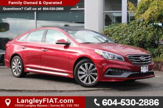 Used 2016 Hyundai Sonata Sport Tech NO ACCIDENTS! for sale in Surrey, BC