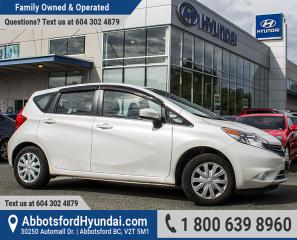 Used 2015 Nissan Versa Note 1.6 S LOW KILOMETRES & ACCIDENT FREE for sale in Abbotsford, BC