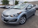 Used 2015 Hyundai Elantra GL-new tires/new brakes-VERY CLEAN for sale in Mississauga, ON
