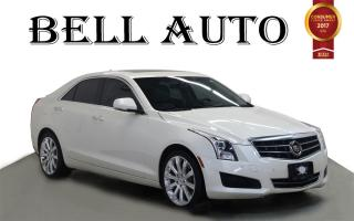 Used 2014 Cadillac ATS AWD NAVIGATION LEATHER PANORAMIC ROOF for sale in North York, ON
