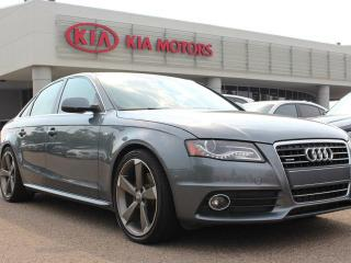 Used 2012 Audi A4 2.0T PREMIUM AWD, SUNROOF, HEATED SEATS, NAVI, LEATHER SEATS, CRUISE CONTROL for sale in Edmonton, AB