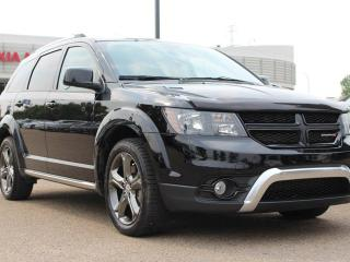 Used 2015 Dodge Journey CROSSROAD AWD, HEATED SEATS, HEATED WHEEL, BACKUP CAM, NAVI, DVD PLAYER, SUNROOF, for sale in Edmonton, AB