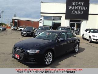 Used 2014 Audi A4 Progressiv QUATTRO| NAVIGATION | TAN LTHR for sale in Kitchener, ON