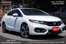 Used 2015 Honda Civic Si MANUAL | SUNROOF | PERFORMANCE ENGINE for sale in Pickering, ON