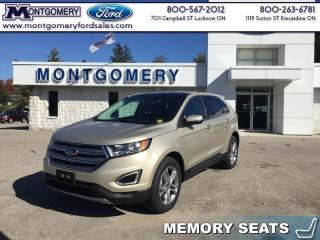 New 2017 Ford Edge EDGE LIMITED AWD  - Leather Seats for sale in Kincardine, ON