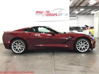 Used 2017 Chevrolet Corvette Stingray 3LT Nav Glass Roof Spice Limited Edition for sale in St George Brant, ON