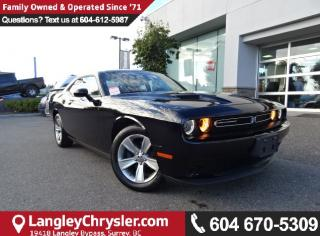 Used 2016 Dodge Challenger SXT *ACCIDENT FREE*ONE OWNER*LOCAL BC CAR* for sale in Surrey, BC