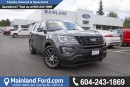 Used 2017 Ford Explorer Sport LOCAL for sale in Surrey, BC