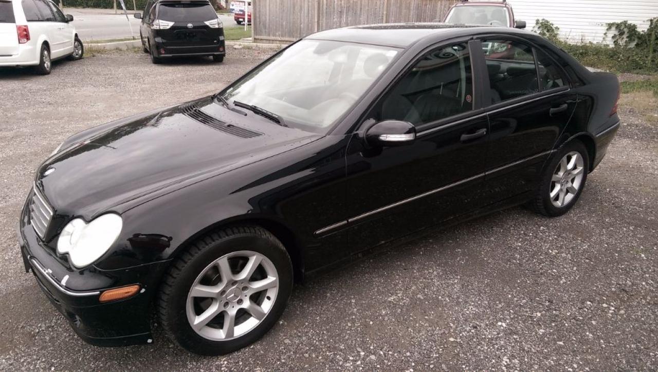 Photo of Black 2005 Mercedes-Benz C230